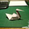 Cómo hacer un Cisne de Papel