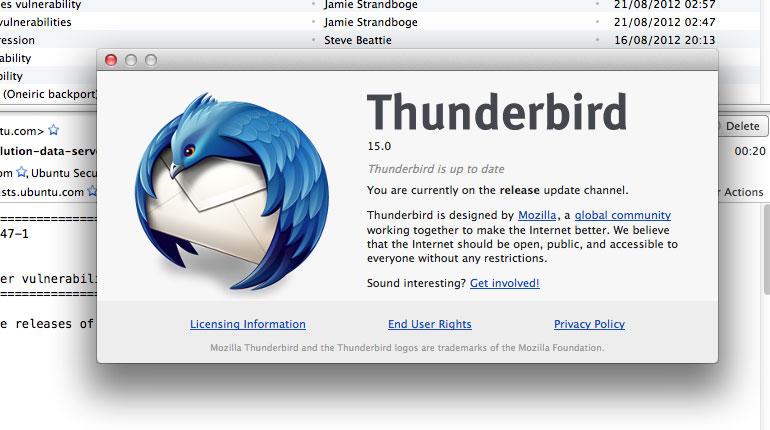 Cómo pasar tus contactos de MSN a Thunderbird