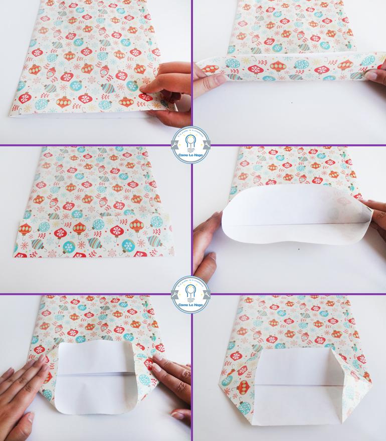 Como hacer una bolsa regalo c 243 mo lo hago c 243 mo - Como hacer bolsas de regalo ...