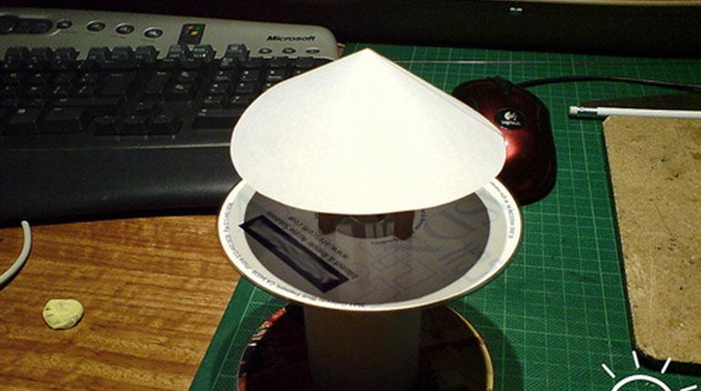 Cómo hacer una lámpara USB