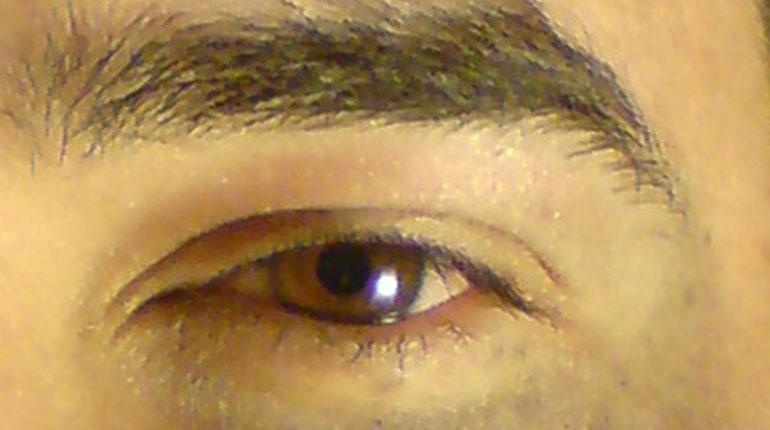 Cómo hacer un ojo en tinta falso