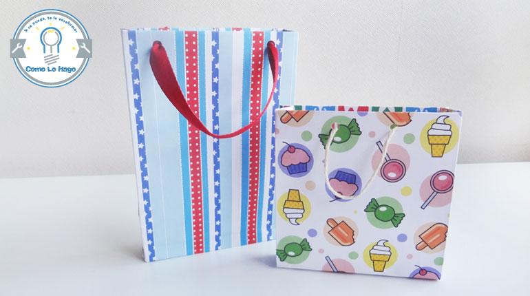 Cómo hacer una bolsa para regalos