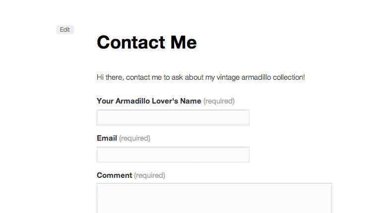 Cómo hacer un formulario de contacto