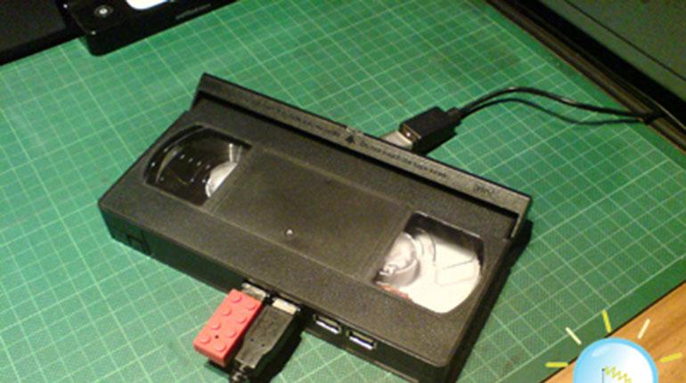 Como Hacer un VHS USB HUB