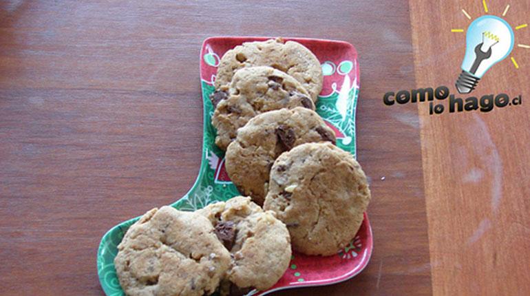 Cómo hacer Galletas de Chocolate y Nuez