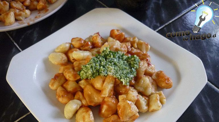 Como preparar Salsa Pesto o Salsa Verde