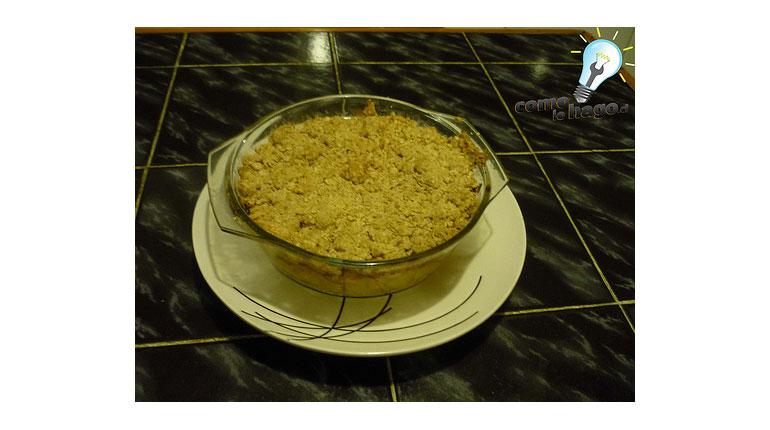 Cómo preparar un Crumb de Avena y Manzanas