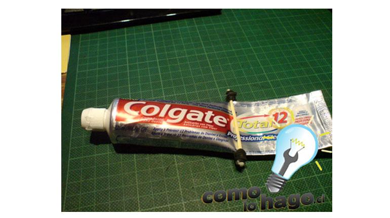 Cómo sacarle el jugo a tu pasta de dientes