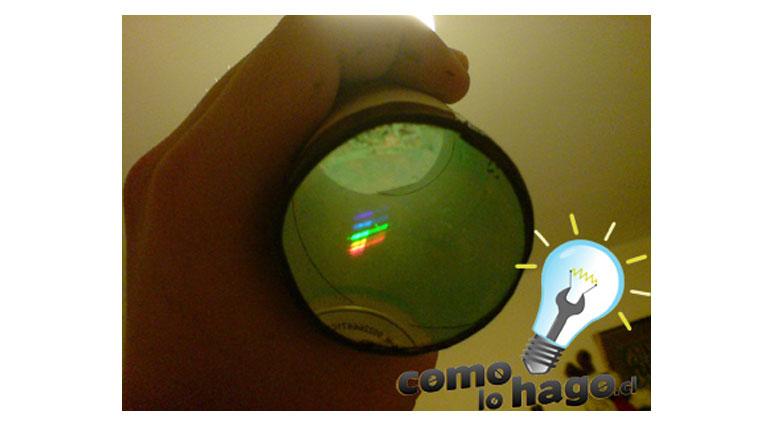 Cómo hacer un  Espectroscopio