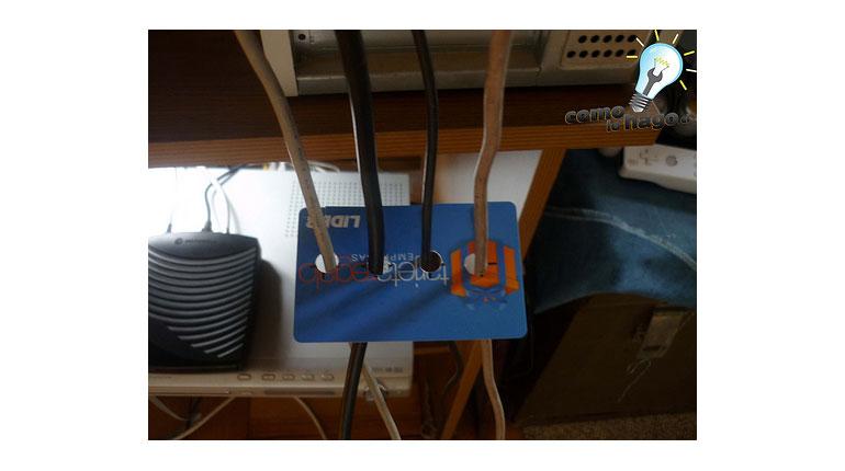 Cómo hacer un organizador de Cables Casero