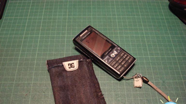 Cómo hacer un bolsito para el móvil