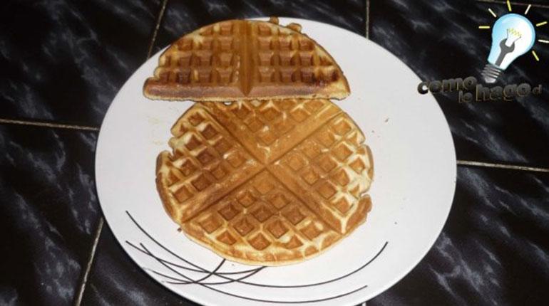 Cómo preparar Waffles