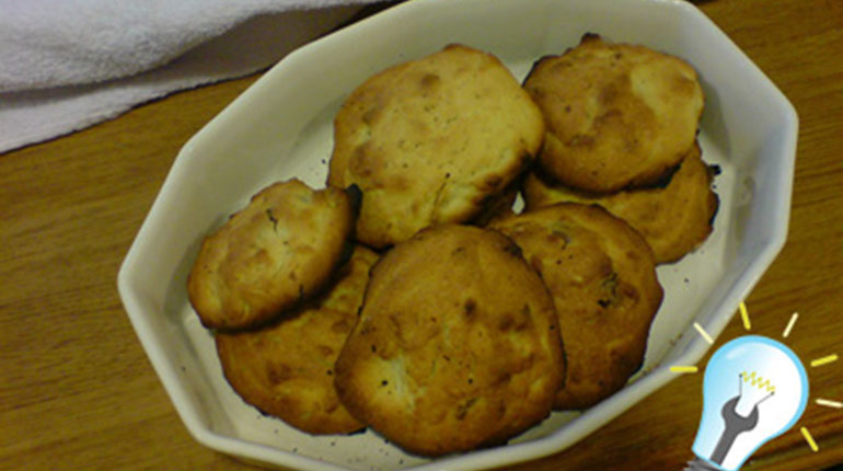 Cómo hacer galletones de frutas secas y chocolate