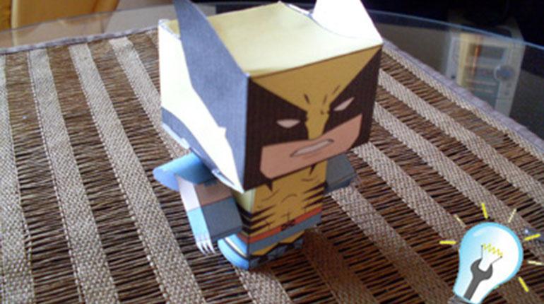 Cómo hacer un Superheroe de Papel