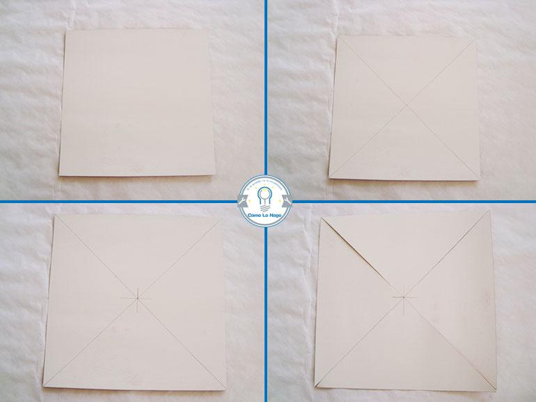 Marcas - Cómo hacer un remolino de papel