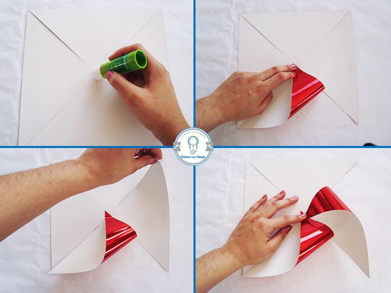 Armado 1 - Cómo hacer un remolino de papel