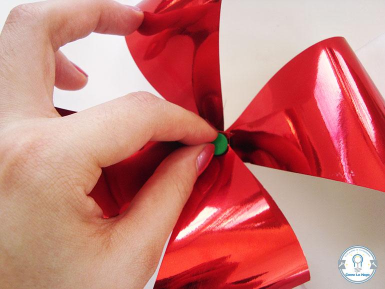 Armado 3 - Cómo hacer un remolino de papel