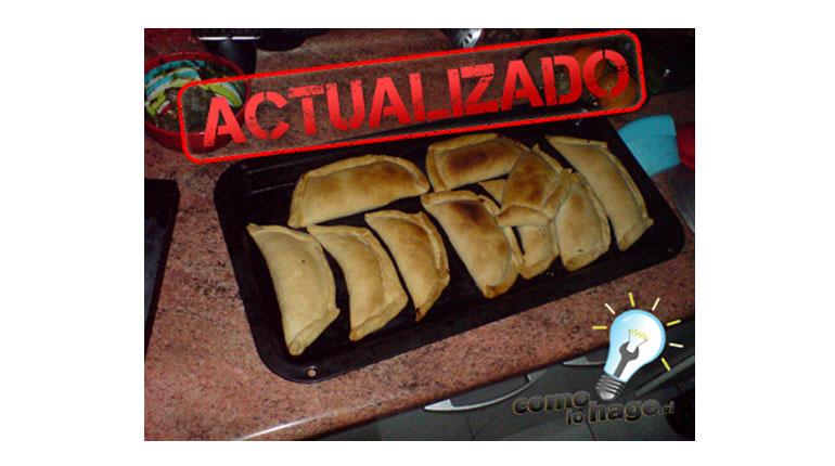 Cómo hacer empanadas de horno