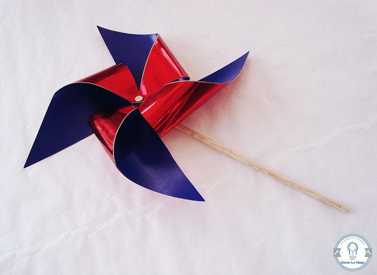 Remolino bicolor - Cómo hacer un remolino de papel.