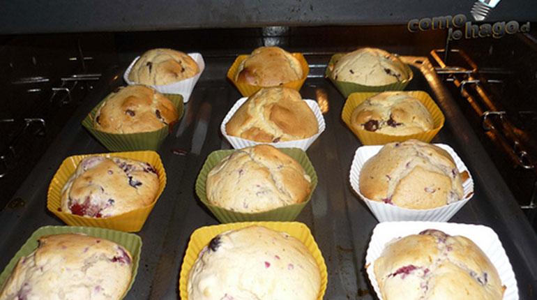 Cómo preparar Muffins Light