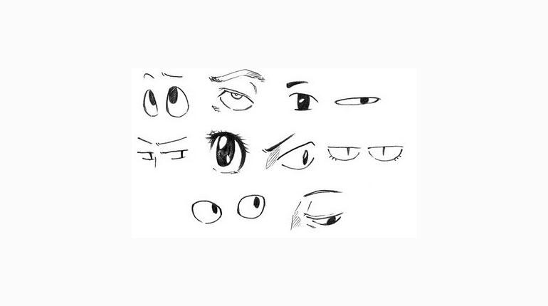 Cómo dibujar ojos estilo anime
