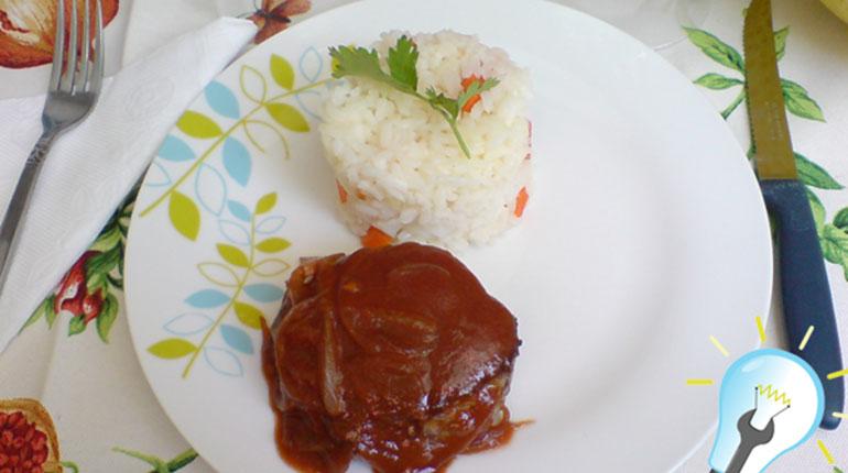 Cómo hacer Medallones de Filete con salsa Pomodoro