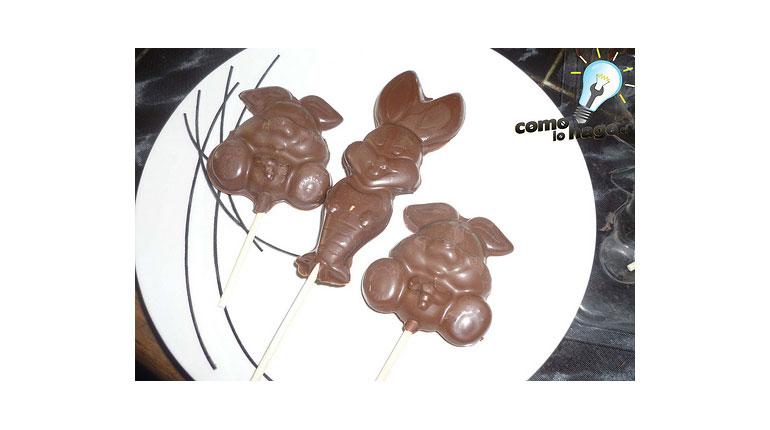Recordando tutoriales: Cómo preparar paletas de chocolate