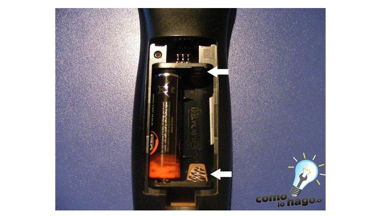 Cómo hacer funcionar un control remoto con una pila