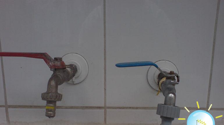 Cómo cambiar una llave para el agua