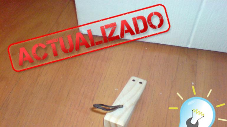Recordando Tutoriales: Cómo fabricar un mouse traba puertas