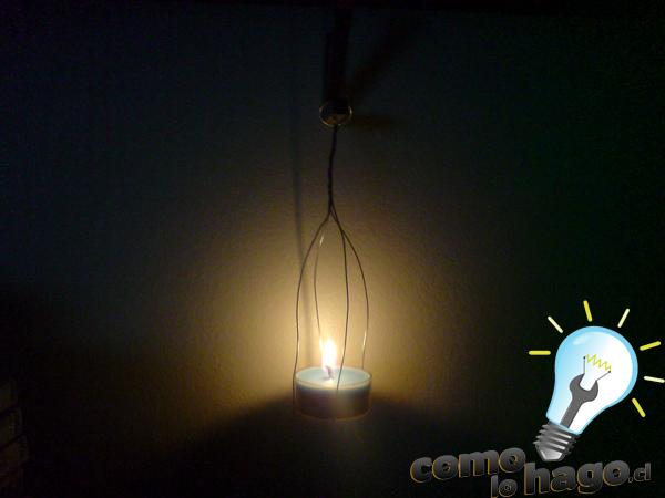 Cómo hacer un simple porta velas