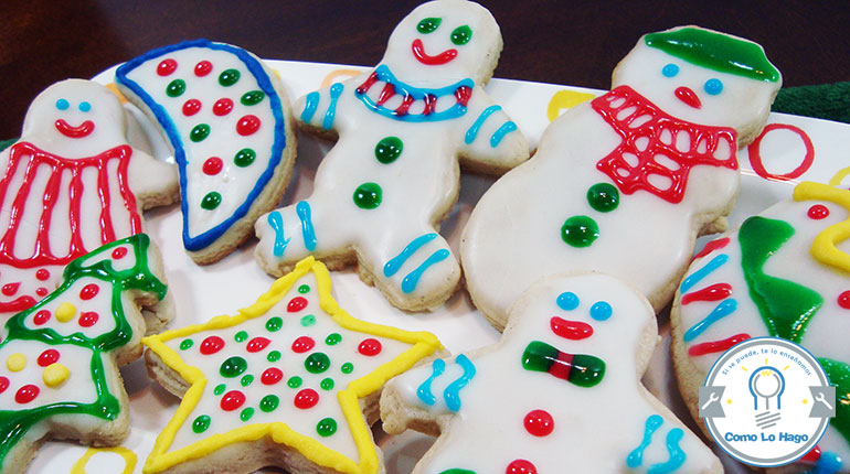 Cómo preparar galletas de navidad