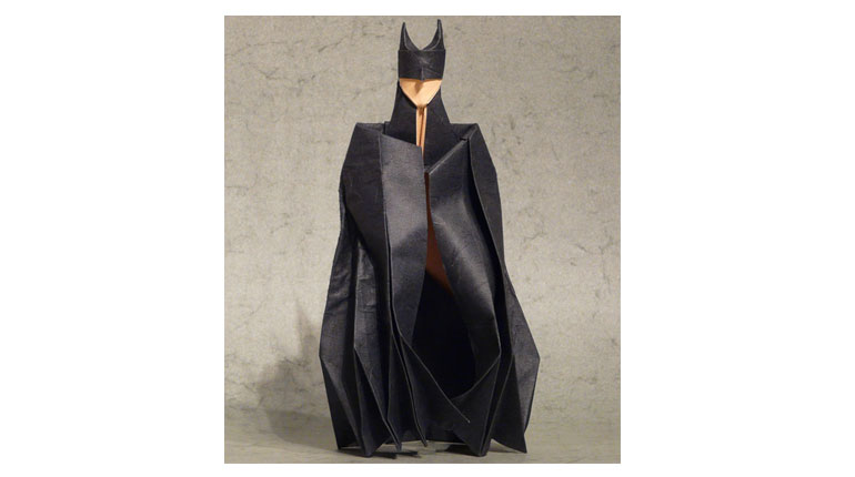 Cómo hacer un Batman de origami