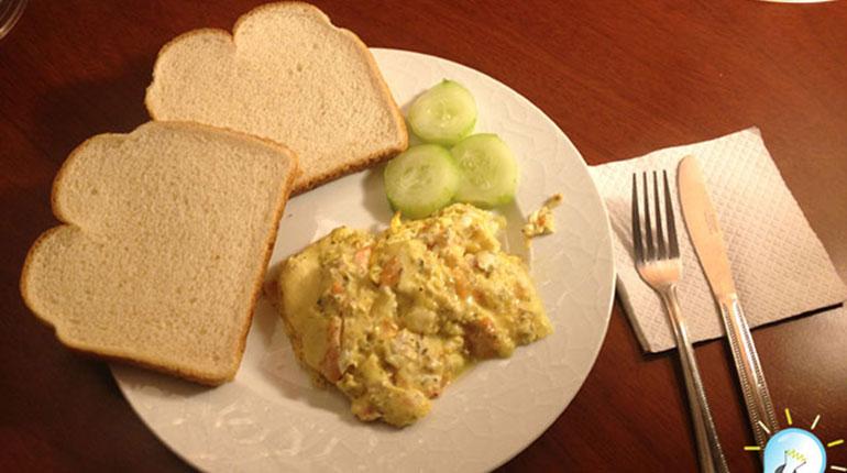 Cómo preparar huevos pericos