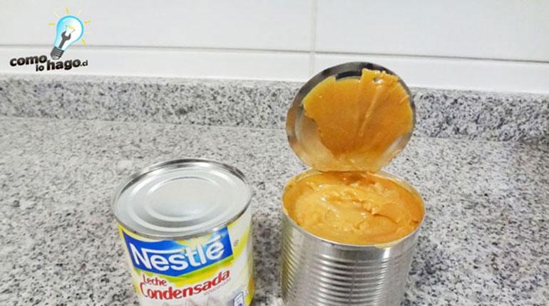 Cómo transformar un tarro de leche condensada en manjar