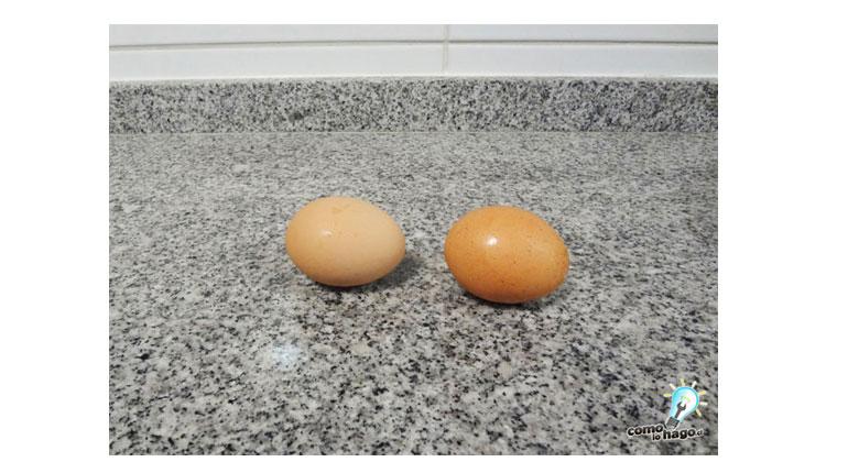 Cómo saber si un huevo está cocido sin tener que abrirlo