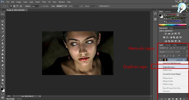 Cómo fantasmizar una imagen en Photoshop