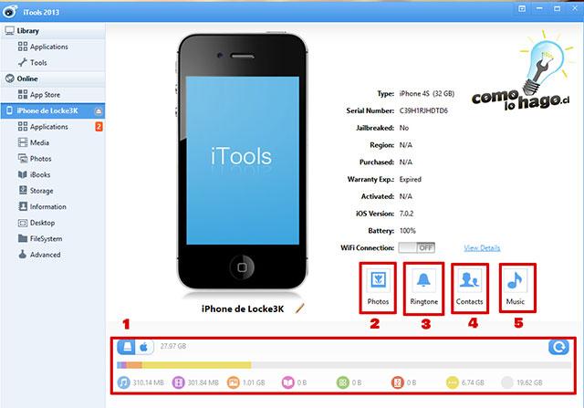 02 Como utilizar iTools
