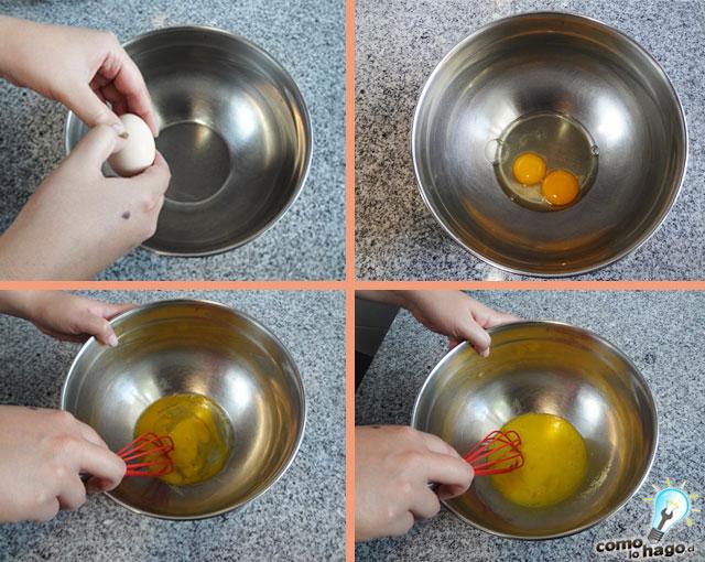 Abriendo los huevos - Cómo hacer tostadas francesas