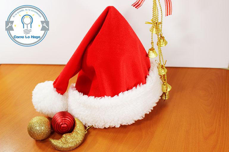 Manualidades Gorros De Navidad.Como Lo Hago Como Hacer Un Gorro De Navidad
