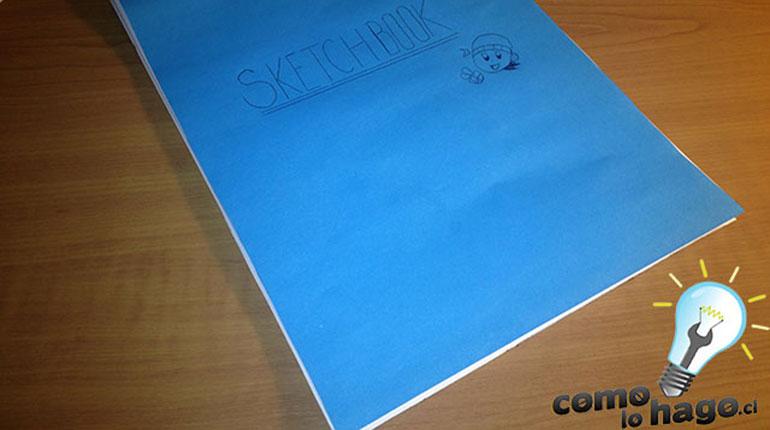 Cómo hacer un sketchbook