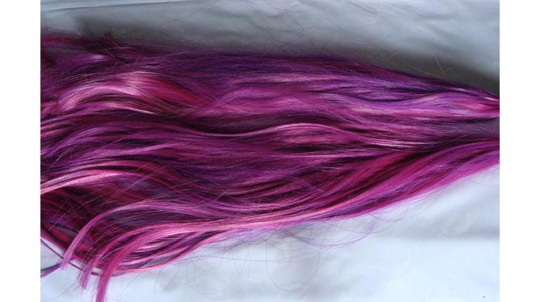 Cómo teñir cabello sintético parte 1