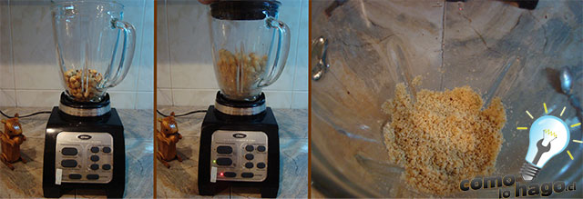 Picando las avellanas - Cómo hacer nutella casera