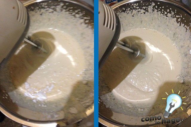 Batiendo la crema - Cómo hacer una marquesa de chocolate