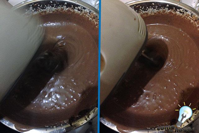 Mezcla completa - Cómo hacer una marquesa de chocolate