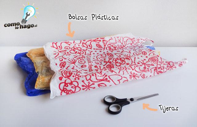 Materiales - Cómo hacer hilo plástico casero
