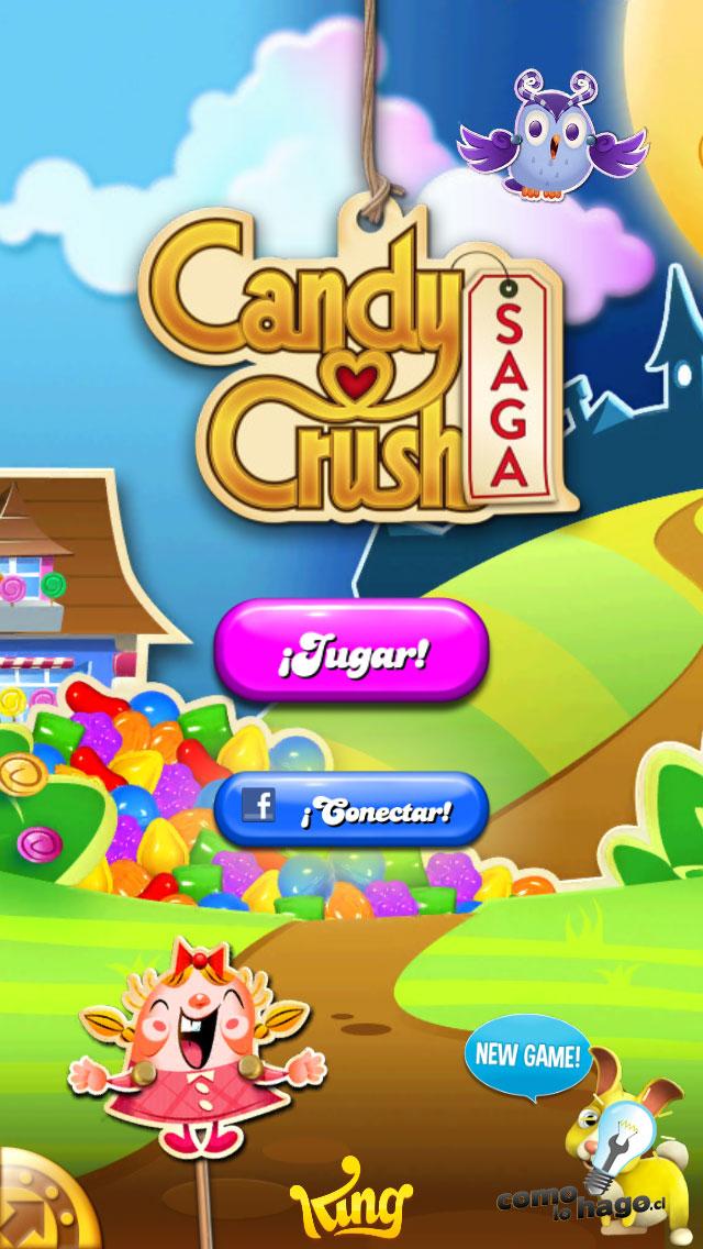 Portada del juego - Cómo obtener vidas gratis en Candy Crush