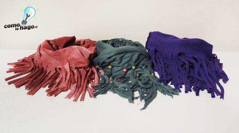 Cómo hacer un pañuelo usando una polera vieja