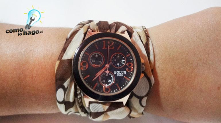 Cómo renovar la pulsera de un reloj antiguo