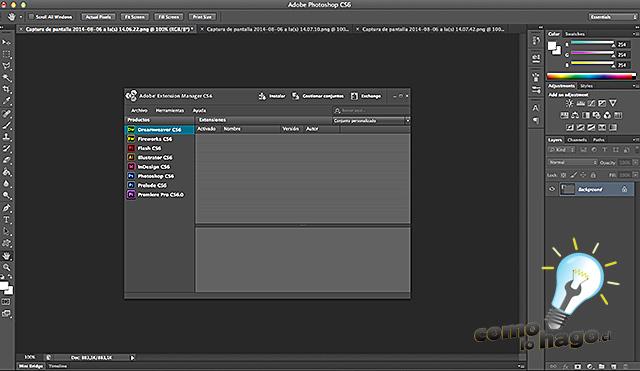En Photoshop - Cómo marcar tus fotos automáticamente en Photoshop